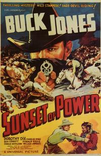 Sunset of Power - 11 x 17 Movie Poster - Style B