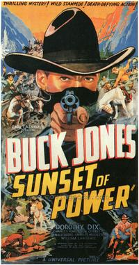 Sunset of Power - 27 x 40 Movie Poster - Style A