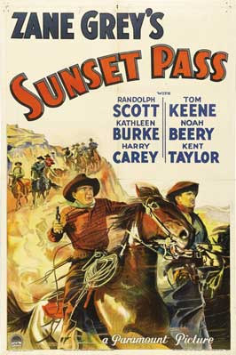 Sunset Pass - 27 x 40 Movie Poster - Style A