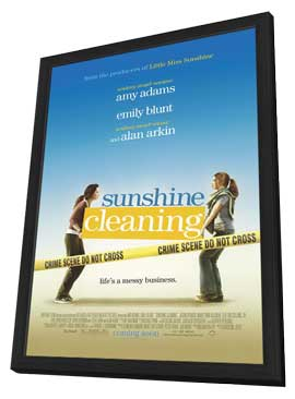 Sunshine Cleaning - 11 x 17 Movie Poster - Style A - in Deluxe Wood Frame