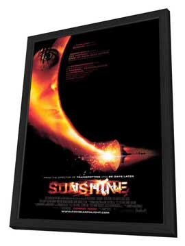 Sunshine - 27 x 40 Movie Poster - Style B - in Deluxe Wood Frame