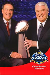 Super Bowl XXXVII - 11 x 17 TV Poster - Style A