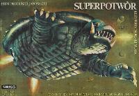 Super Monster - 11 x 17 Movie Poster - Polish Style A