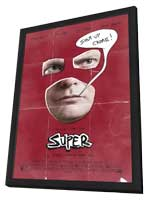 Super - 11 x 17 Movie Poster - Style A - in Deluxe Wood Frame