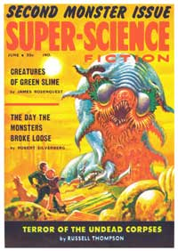 Super Science Fiction - 11 x 17 Movie Poster - Style B