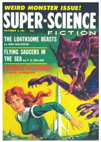 Super Science Fiction - 11 x 17 Movie Poster - Style D