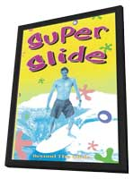 Super Slide - 11 x 17 Movie Poster - Style A - in Deluxe Wood Frame