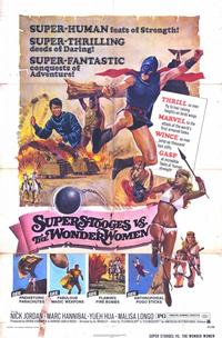 Super Stooges vs the Wonder Women - 11 x 17 Movie Poster - Style A