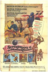 Super Stooges vs the Wonder Women - 27 x 40 Movie Poster - Style A