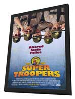 Super Troopers - 11 x 17 Movie Poster - Style A - in Deluxe Wood Frame