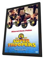 Super Troopers - 27 x 40 Movie Poster - German Style A - in Deluxe Wood Frame