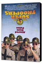 Super Troopers - 27 x 40 Movie Poster - Style A - Museum Wrapped Canvas