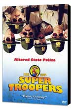 Super Troopers - 27 x 40 Movie Poster - German Style A - Museum Wrapped Canvas