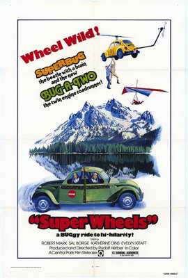 Super Wheels - 11 x 17 Movie Poster - Style A