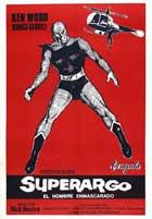 Superargo contro Diabolikus - 27 x 40 Movie Poster - Italian Style A