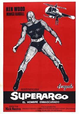 Superargo contro Diabolikus - 11 x 17 Movie Poster - Italian Style A