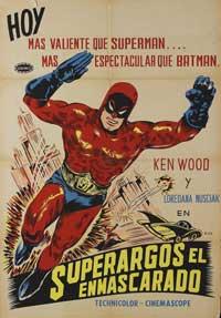 Superargo Versus Diabolicus - 11 x 17 Movie Poster - Spanish Style A