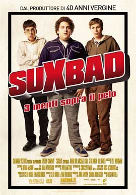 Superbad - 11 x 17 Movie Poster - Italian Style A