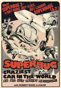 Superbug Craziest Car in World - 27 x 40 Movie Poster - Style A