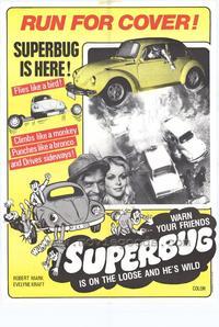 Superbug - 11 x 17 Movie Poster - Style B