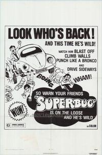 Superbug - 11 x 17 Movie Poster - Style D