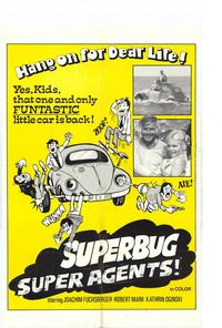 Superbug Super Agent - 11 x 17 Movie Poster - Style A
