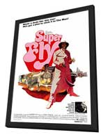Superfly - 27 x 40 Movie Poster - Style A - in Deluxe Wood Frame