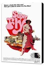 Superfly - 27 x 40 Movie Poster - Style A - Museum Wrapped Canvas