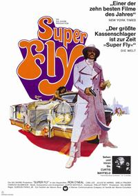 Superfly - 11 x 17 Movie Poster - German Style A