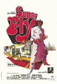 Superfly - 11 x 17 Movie Poster - French Style A