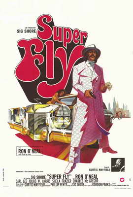 Superfly - 27 x 40 Movie Poster - French Style A