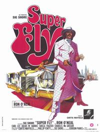 Superfly - 47 x 62 Movie Poster - French Style A