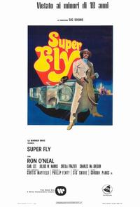Superfly - 11 x 17 Movie Poster - Italian Style A