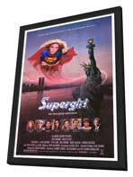 Supergirl - 11 x 17 Movie Poster - Style A - in Deluxe Wood Frame