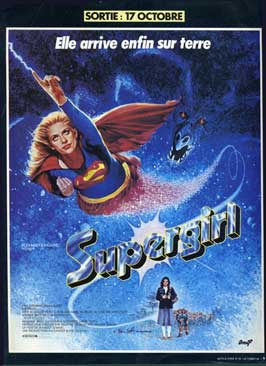 Supergirl - 27 x 40 Movie Poster - French Style B