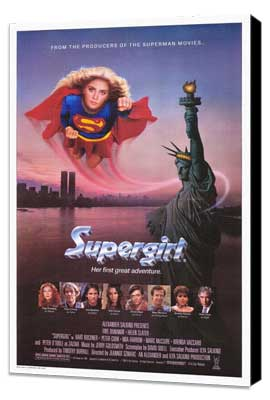 Supergirl - 11 x 17 Movie Poster - Style A - Museum Wrapped Canvas
