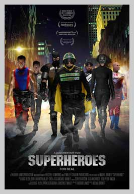 Superheroes - 11 x 17 Movie Poster - Style A