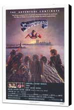 Superman 2 - 27 x 40 Movie Poster - Style B - Museum Wrapped Canvas