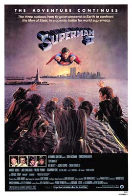 Superman 2 - 11 x 17 Movie Poster - Style B