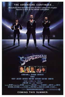 Superman 2 - 27 x 40 Movie Poster - Style A