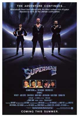 Superman 2 - 43 x 62 Movie Poster - Bus Shelter Style A