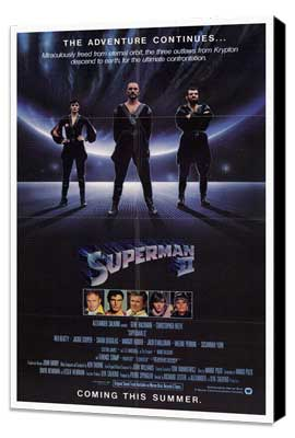 Superman 2 - 27 x 40 Movie Poster - Style A - Museum Wrapped Canvas
