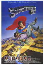 Superman 3 - 27 x 40 Movie Poster