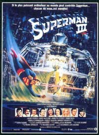 Superman 3 - 11 x 17 Movie Poster - French Style A