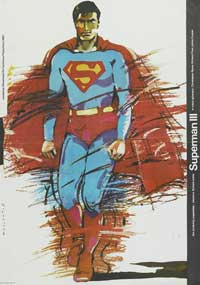 Superman 3 - 11 x 17 Movie Poster - Polish Style B