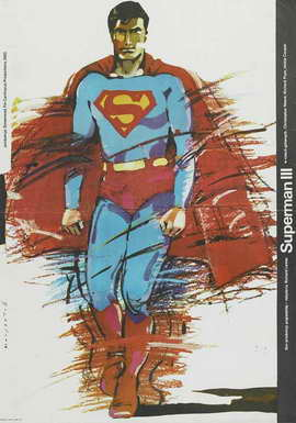 Superman 3 - 27 x 40 Movie Poster - Polish Style B