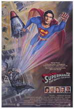Superman 4: The Quest for Peace - 11 x 17 Movie Poster - Style A