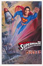 Superman 4: The Quest for Peace - 27 x 40 Movie Poster - Style D