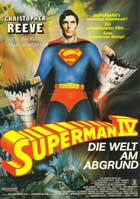Superman 4: The Quest for Peace - 11 x 17 Movie Poster - German Style A