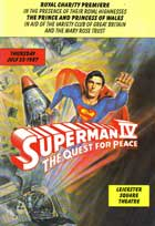 Superman 4: The Quest for Peace - 11 x 17 Movie Poster - UK Style A